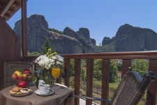 Double room most panoramic view in Meteora