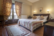Double room with views of the rocks and Meteora