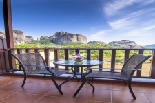 Triple with most panoramic views of the Meteora