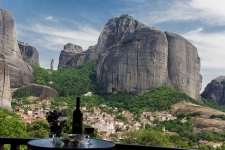 Quadruple with panoramic views of the Meteora